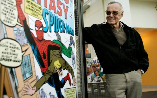 Stan Lee, who dreamed up Spider-Man, Iron Man, the Hulk and a cavalcade of other Marvel Comics superheroes...