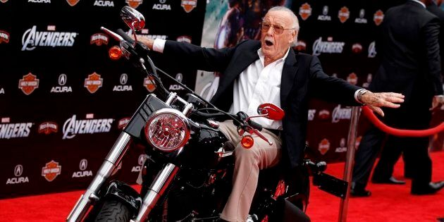 Stan Lee hoped to get 'Stan Lee's The Chosen' on air before he