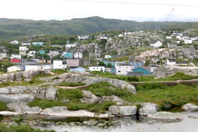 Rose Blanche, a fishing village in