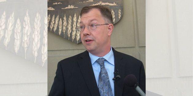 John Carpay in Calgary in 2012.