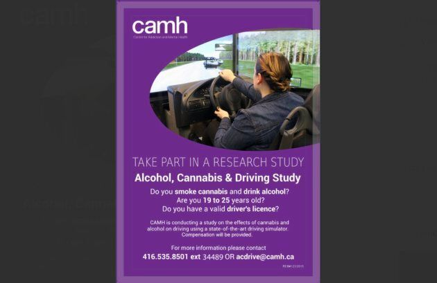 A copy of the Kijiji ad put out by the CAMH.