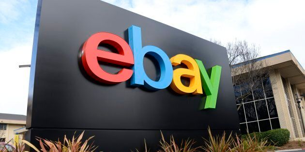 eBay headquarters in San Jose, Calif. on Jan. 11,