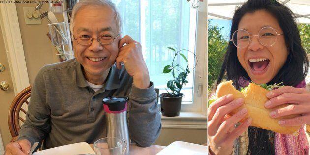 Ming's restaurant owner Simon Yu (left) and daughter Vanessa Ling Yu
