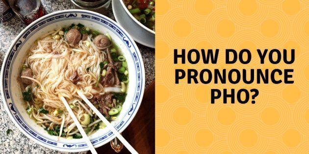 Pho is a popular, and often mispronounced, Vietnamese noodle soup typically made with beef or chicken broth, noodles, rice noodles, meat and assorted other ingredients.