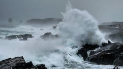 Storm Batters Newfoundland With Tallest Waves On
