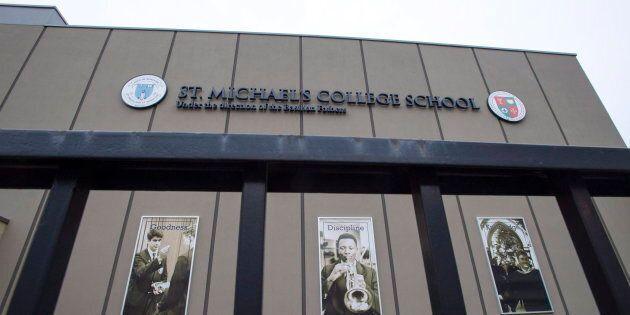 St. Michael's College School on Nov. 15,