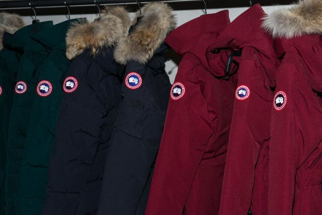 A view inside Canada Goose's U.S. flagship store on Nov. 16, 2016 in New York