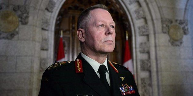 Chief of Defence Staff Jonathan Vance in Ottawa on March 19,