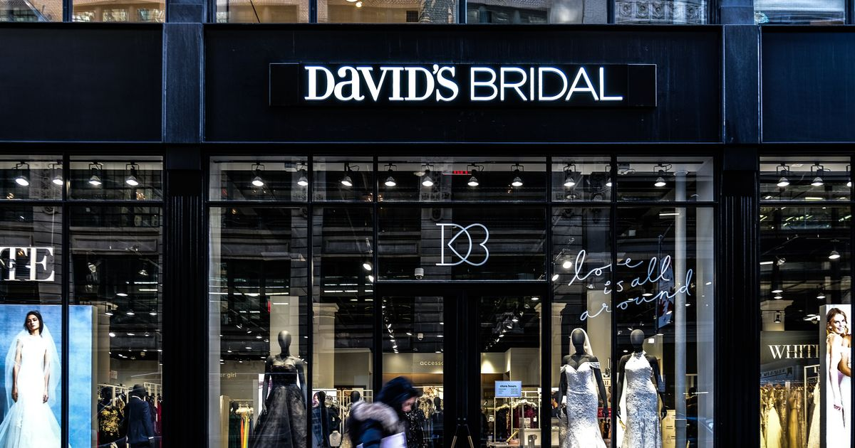 5cb69f29d711 David's Bridal Has Filed For Bankruptcy, But Says Stores Won't Be Affected. The  wedding dress ...
