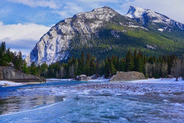 Banff National Park, one of the most popular in Canada.
