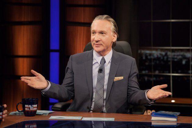 Talk show host Bill Maher.