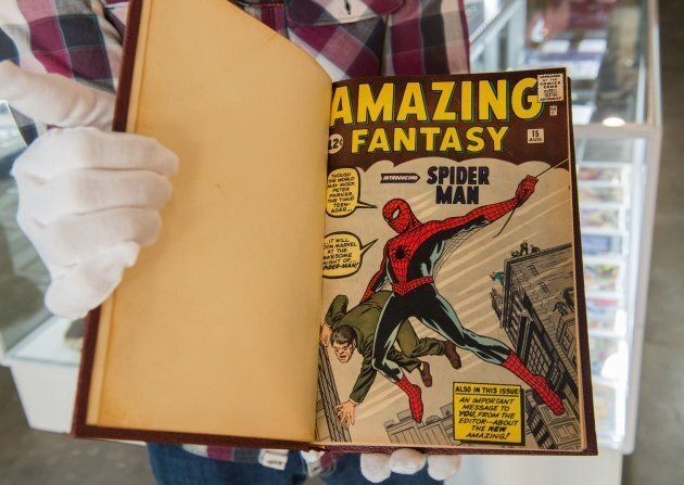 Issues of The Amazing Spider-Man.