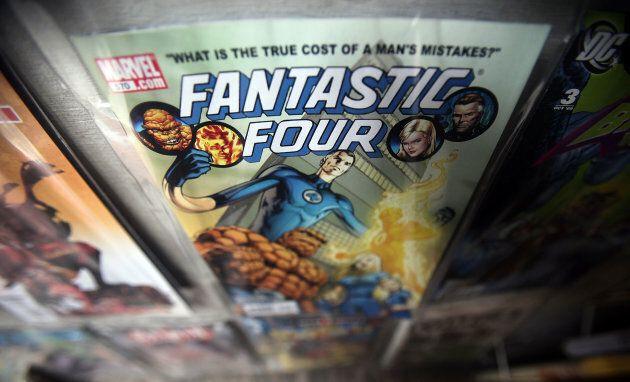 A Fantastic Four comic book.
