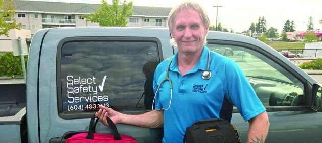 Logger Garry Amundsen began working as a paramedic in the late '80s in the