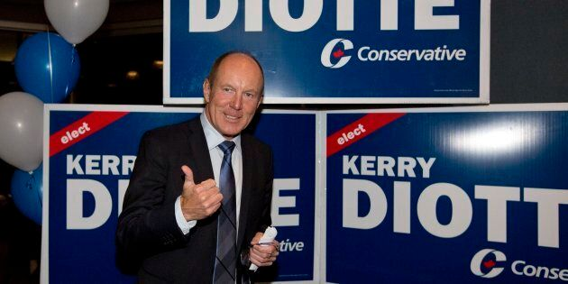 Edmonton Griesbach MP Kerry Diotte Edmonton Griesbach celebrates winning the seat Oct. 19,