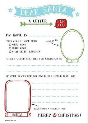 Santa Letter Templates 16 Free Wish Lists For Kids Huffpost Canada Parents