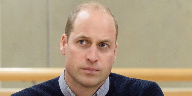 Prince William, Duke of Cambridge, seen on Nov. 22, 2018 in London, England, tried to save Robbie Lea's...