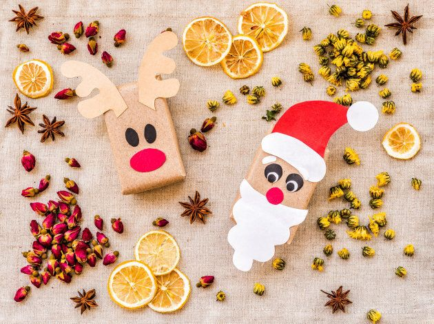 Making your own gifts and decorations can be the start of a fun, eco-friendly Christmas tradition!