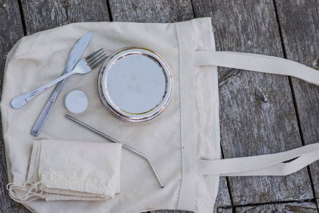 Try to carry around your own silverware to avoid using plastics.