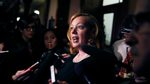 Lisa MacLeod, Ontario's Minister of Children, Community and Social Services.