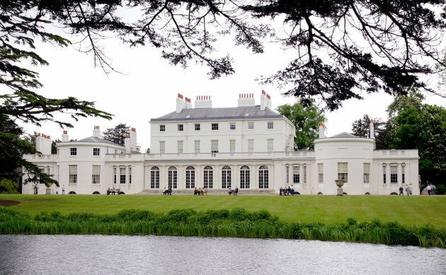 A general view of Frogmore House in Home Park, Windsor Castle on May 17, 2006 in Windsor,