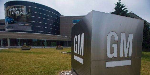 The General Motors Canada office in Oshawa, Ont., Wed. June 20,