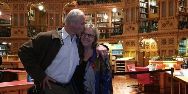 Elizabeth May and John Kidder are getting married next