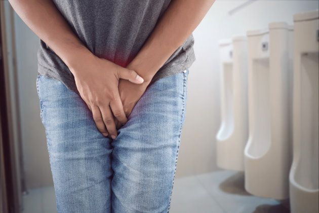 If you pee often, you could just have a small