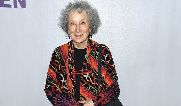 Margaret Atwood arrives at the Hammer Museum Gala in the Garden on Oct. 14, 2018 in Los Angeles,