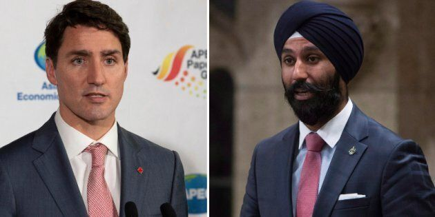 Prime Minister Justin Trudeau says his government won't comment further on Raj Grewal, a Liberal MP who...