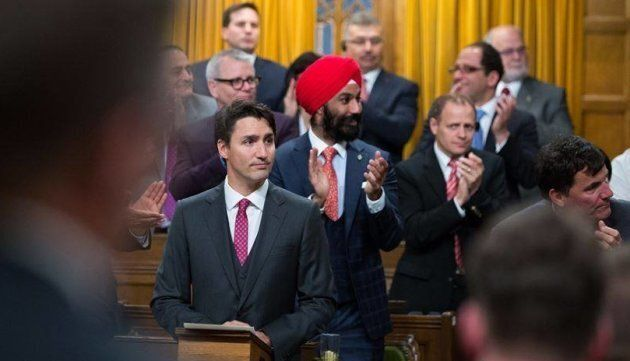 Liberal MP Raj Grewal was elected in 2015 in the Ontario riding of Brampton