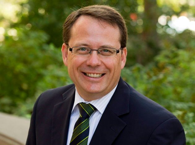 Ontario Green Party Leader Mike Schreiner poses for a photo in Toronto on Aug. 15,