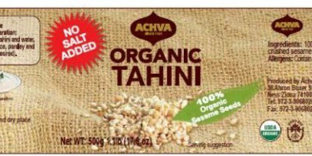 The CFIA says the tahini was sold in seven