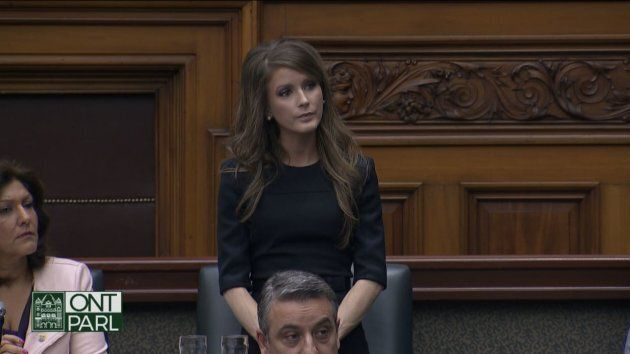 Amanda Simard, MPP for Glengarry-Prescott-Russell, who left the Ontario PC Caucus due to the Francophone service cuts.