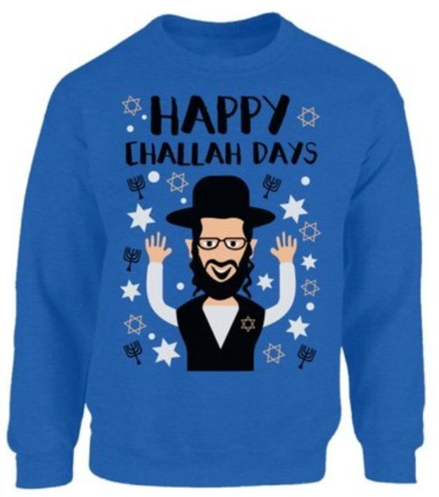 Hanukkah Sweaters Are Here, So That You Can Live Your Best Tacky
