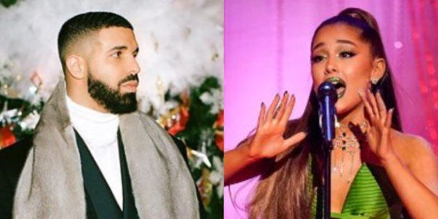 Drizzy and Ariana are Spotify A-listers, if you
