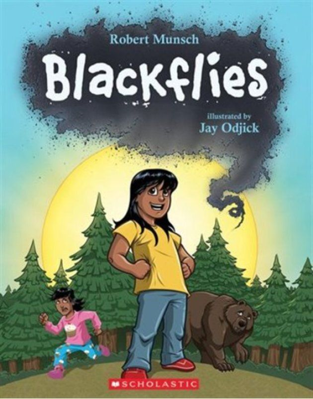 """Blackflies,"" another book written by Robert Munsch and illustrated by Jay Odjick, came out in 2017."