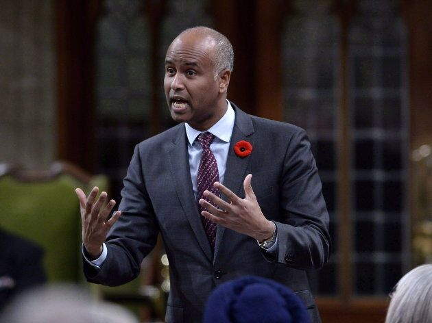 Hussen in Ottawa on Nov. 5,