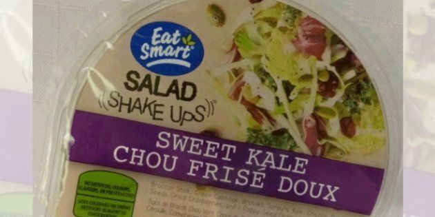 Salad Shake Ups- sweet kale salad has been recalled due to a possible listeria