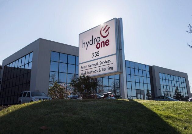 Hydro One's Mississauga, Ont. office on Nov. 4,