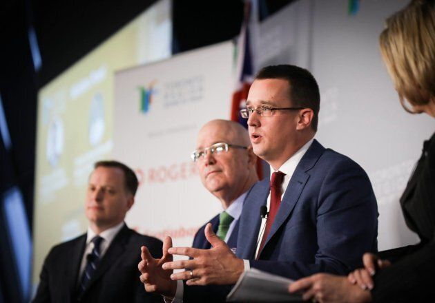 Ontario Minister Monte McNaughton is shown in a Facebook