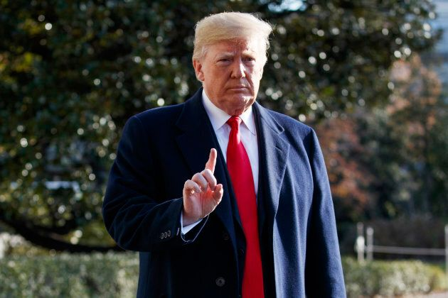 President Donald Trump announces that he is nominating William Barr, attorney general under President...