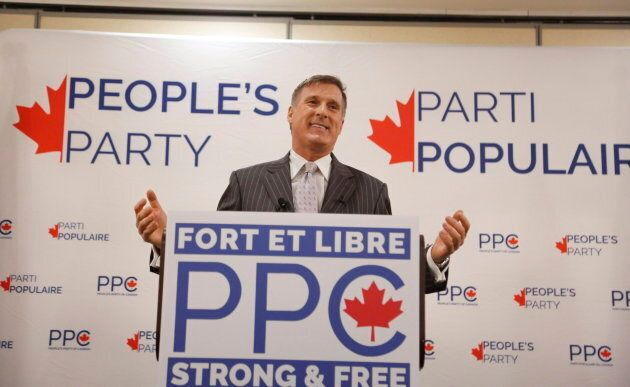 Maxime Bernier formed a new party earlier this