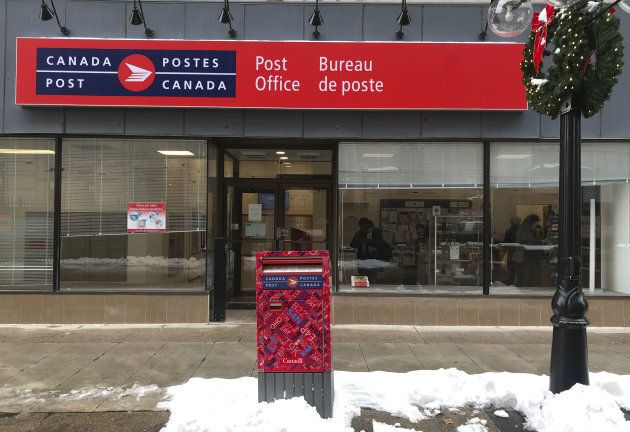 Canada Post office in Ottawa, Ont. on Nov. 19,