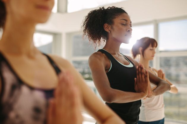 Yoga and meditation are perfect de-stressors for the