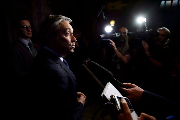 Francois-Philippe Champagne in Ottawa on Nov. 6,