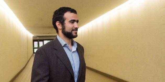 Omar Khadr in Edmonton on Sept. 18,