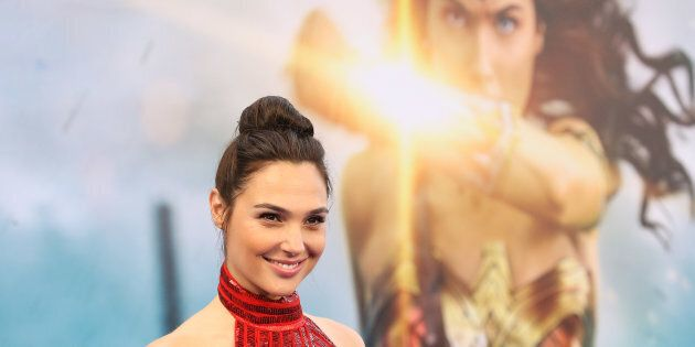 Gal Gadot at the Los Angeles premiere of 'Wonder Woman' on May 25, 2017 in Hollywood,