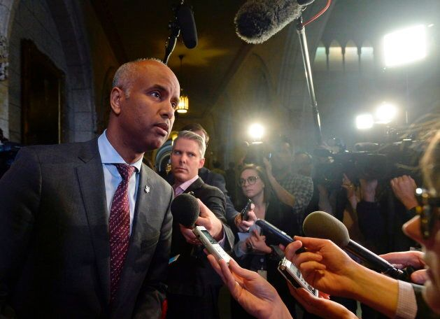 Immigration Minister Ahmed Hussen denied claims that the UN migration agreement would place any limits...