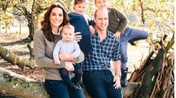 Prince Louis Is Centre Stage In New Royal Family Christmas Card